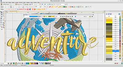 Wilcom Embroidery Studio e4 Decorating 2.259,-€ inkl. Mwst.- Euro